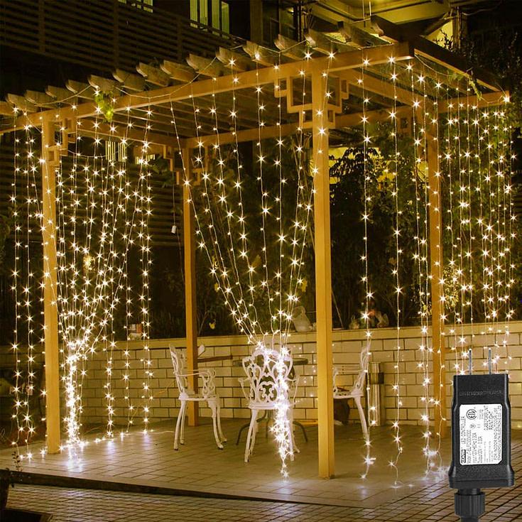 LED Curtain Fairy Lights