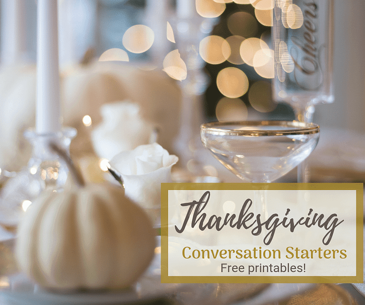 10 Thanksgiving Conversation Questions - Plus Some Tips on Keeping Things Civil