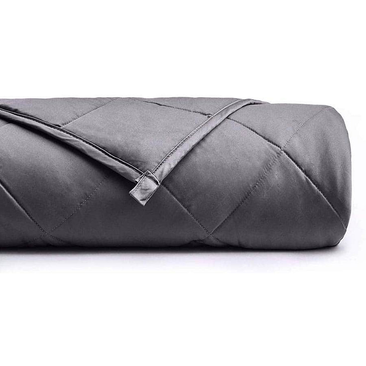 Weighted Blanket (15 lbs, 48''x72'', Twin Size)