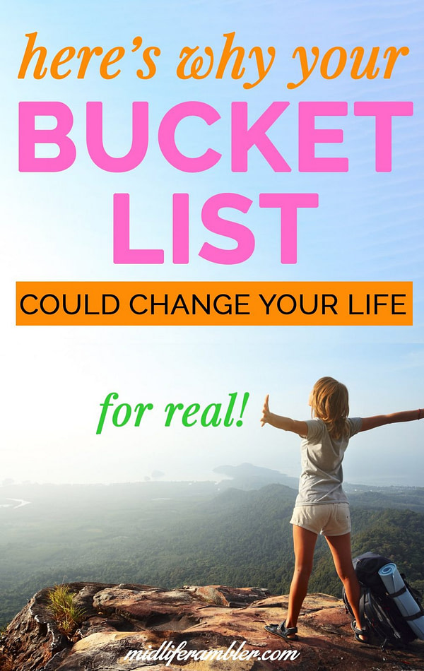 Here's Why You Need a Bucket List 12