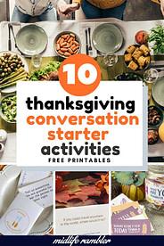 10 Free Printable Thanksgiving Conversation Starters 2
