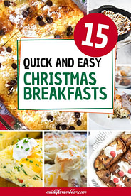 15 Quick and Easy Ideas for Christmas Morning Breakfast 2