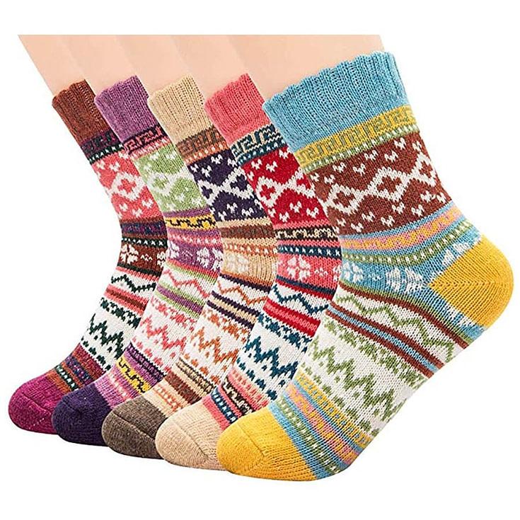 Vintage Soft Wool Crew Socks