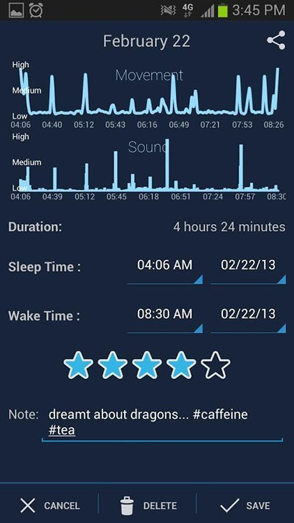 Sleepcycle - One of the 15 Apps You Need to Meet Your Goals in 2018