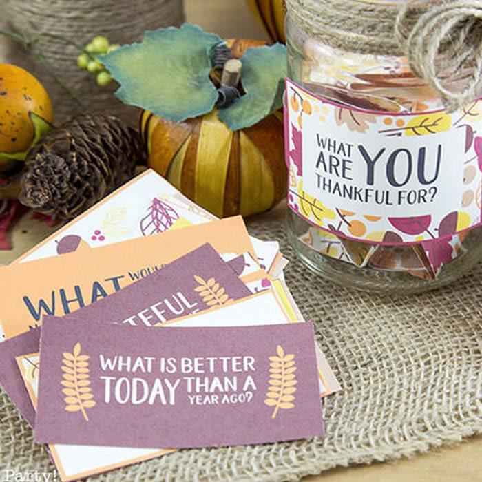 Free Thanksgiving Printable Conversation Cards