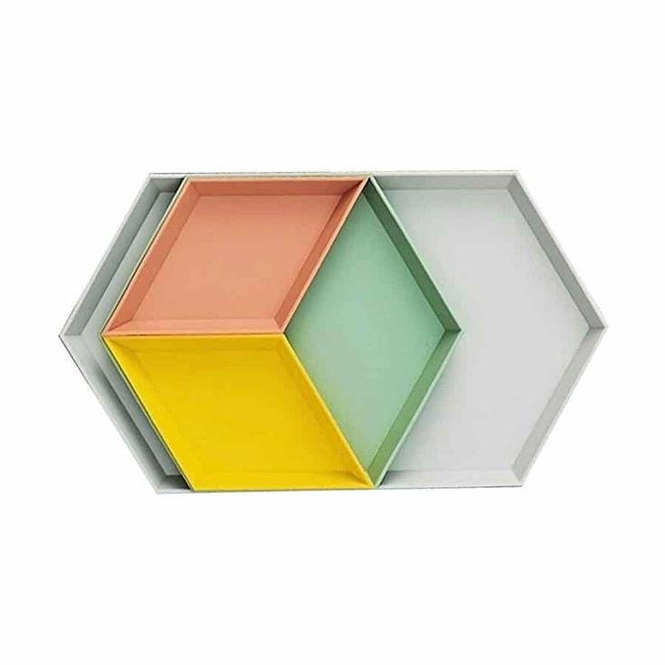 Geometric Vanity Tray