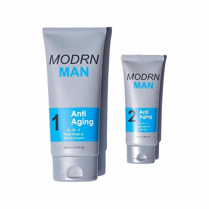 MODRN MAN Anti Aging Skin Care Set For Men