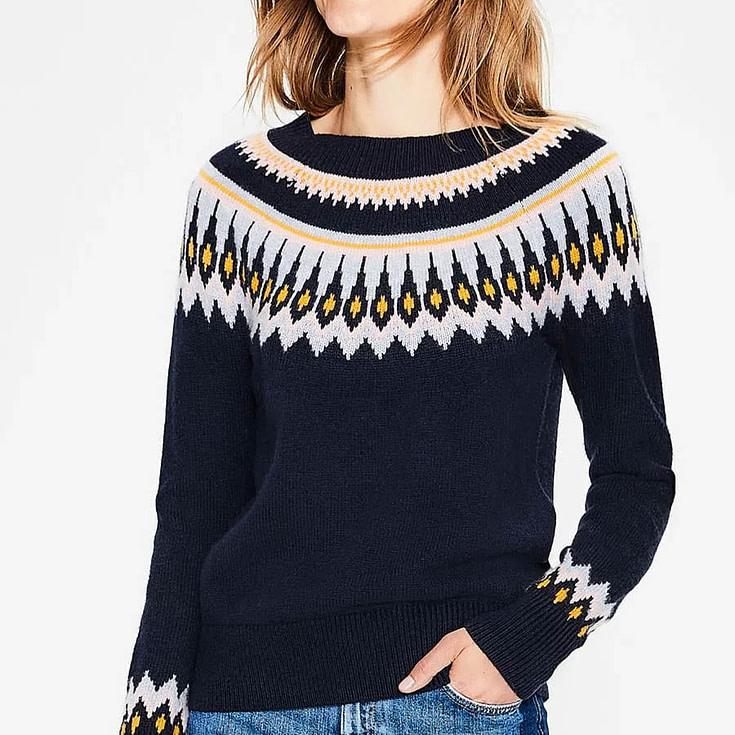 Boden Agnes Fair Isle Sweater
