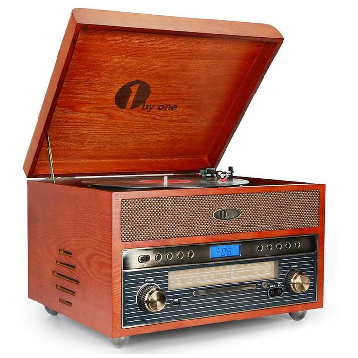 Nostalgic Wooden Turntable
