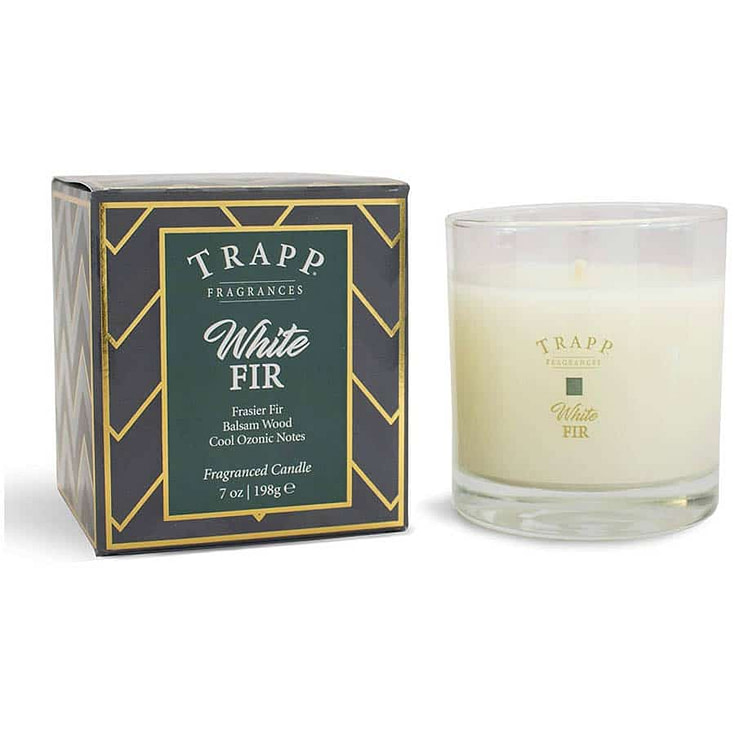 White FirSeasonal Poured Scented Candle