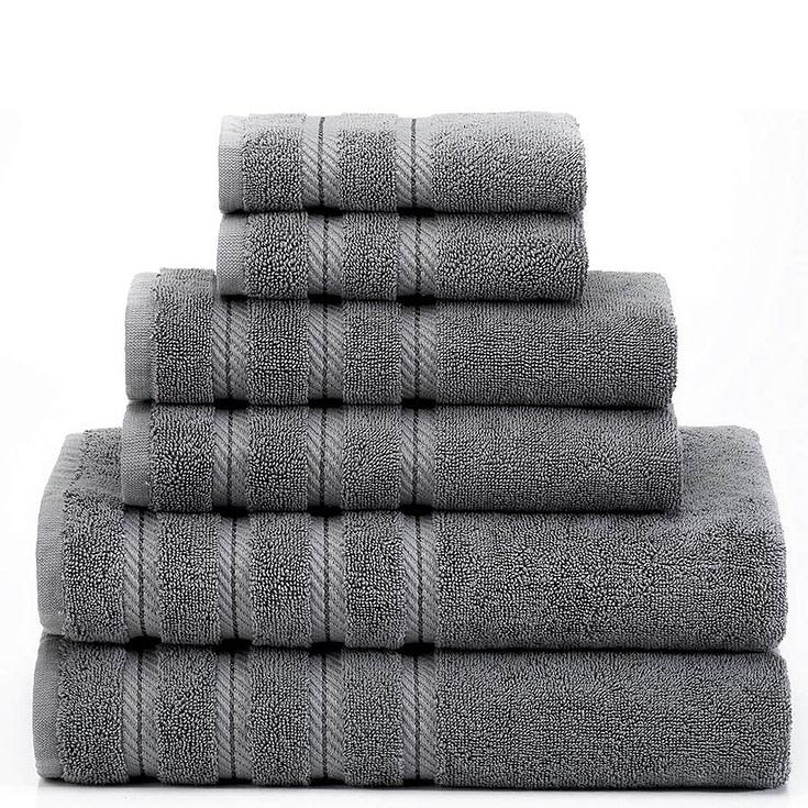 Six Piece Turkish Towel Set