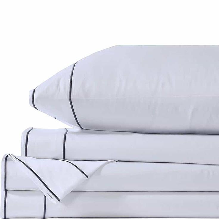 Lasimonne 100% Pure Combed Cotton 400 Thread Count Sheet Set