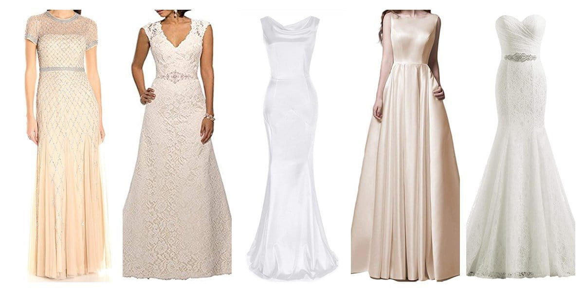 20 Great Wedding Dresses You Can Get from Amazon That are Perfect for the Over 40 Bride